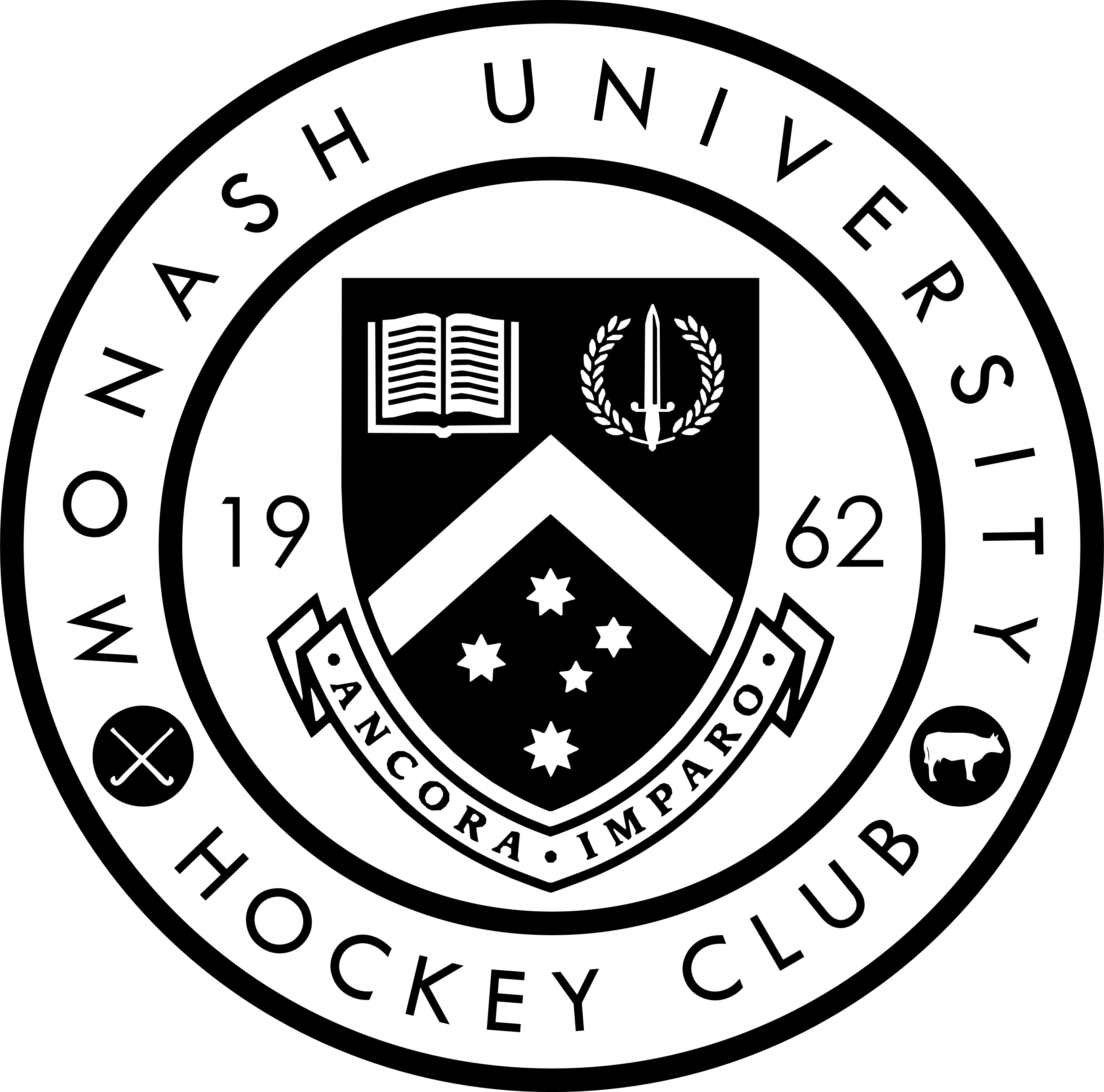 Monash University Hockey Club Logo